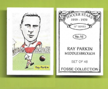 Middlesbrough Ray Parkin 16 (FC)